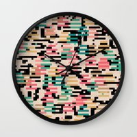 depeche mode Wall Clocks featuring blending mode by spinL