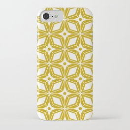 Starburst - Gold iPhone Case