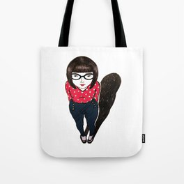 mini miss Tote Bag