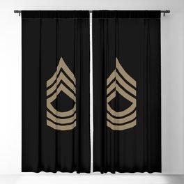 Master Sergeant (Brown) Blackout Curtain