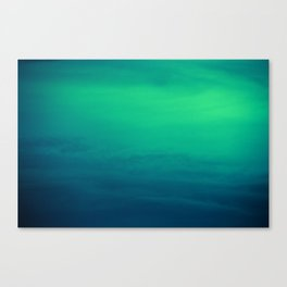 Blue/Green Heaven Canvas Print