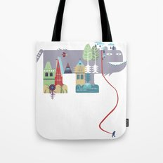 walking beast Tote Bag