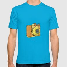 So Analog Mens Fitted Tee Teal LARGE