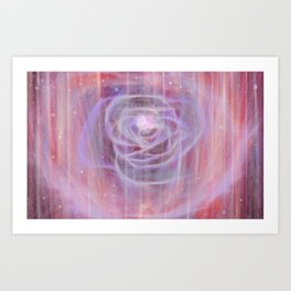Clean and pure. lessons repeating. Art Print