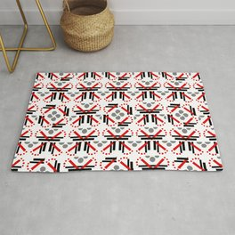 Red Conquers Rug