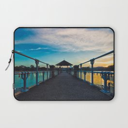 Reservoir at Sunset Laptop Sleeve