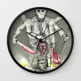 God of the Lake Wall Clock