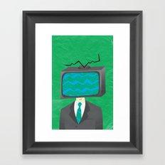 Media of the Mind Framed Art Print