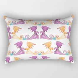 Baby Dragons and Butterflies Rectangular Pillow