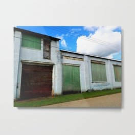 Streets Without Names Metal Print