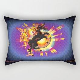 Dark Unicorn—Creature of the Dark Side Rectangular Pillow