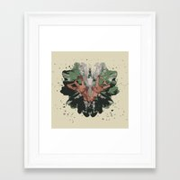 camouflage Framed Art Prints featuring CAMOUFLAGE by GEEKY CREATOR