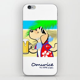 Omurice the little puppy - Cheers iPhone Skin