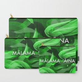 MĀLAMA 'ĀINA - TAKE CARE OF OUR LAND Carry-All Pouch