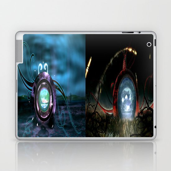 Beginning VS the End Laptop & iPad Skin