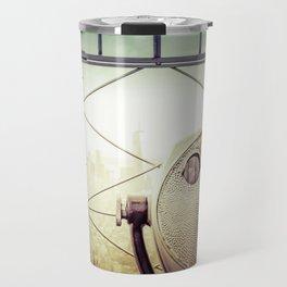 New York City Skyline Tourist Binoculars Travel Mug
