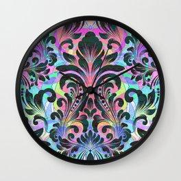 Boujee Boho Fleur Wall Clock