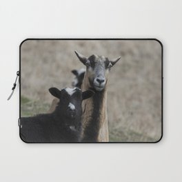 Black Goat and Barbados Blackbelly Sheep, No. 1 Laptop Sleeve
