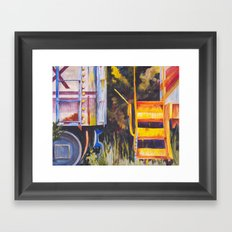 All Aboard ....  Framed Art Print
