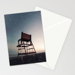 Lifeguard of the Night Stationery Cards