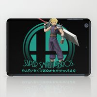 super smash bros iPad Cases featuring Cloud - Super Smash Bros. by Donkey Inferno