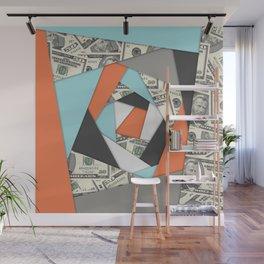 Layered Money Wall Mural