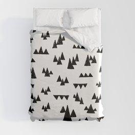 Nordic trees Duvet Cover