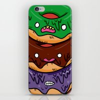 donut iPhone & iPod Skins featuring Donut by jeff'walker