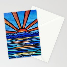Champlain Sunset Stationery Cards