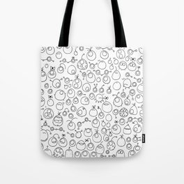 Munnen - Space between us Tote Bag