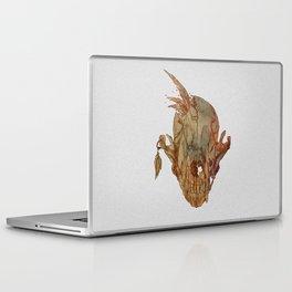 feathers and skull Laptop & iPad Skin
