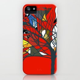 18 Birds in My Tree and more! iPhone Case