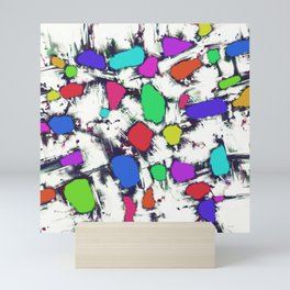 Candy scatter Mini Art Print