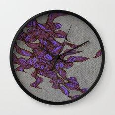 Waves #2 Wall Clock
