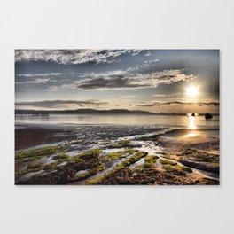 Paignton Seafront Canvas Print