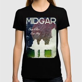 Final Fantasy VII - Midgar Tribute Poster *Distressed* T-shirt