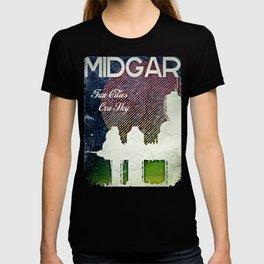 Final Fantasy VII - Midgar Tribute Poster *Distressed* T-shirt