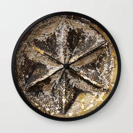 Lichened Beauty Wall Clock