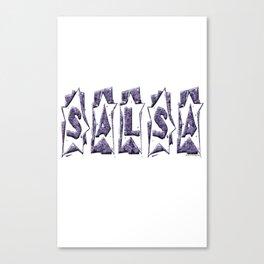 Salsa Star 1 Canvas Print