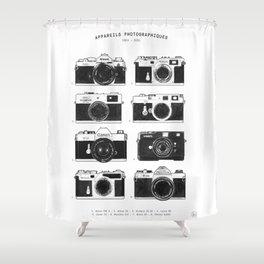 Collections - Appareil Photographiques Shower Curtain