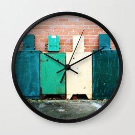 Yesterday's News Wall Clock
