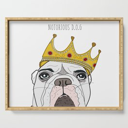 Celebrity Dogs-Notorious D.O.G. Serving Tray