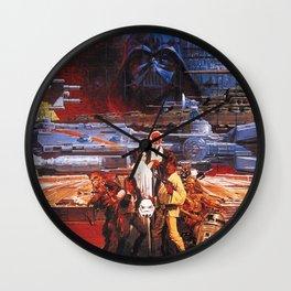 Classic Wars Wall Clock