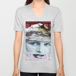 Paper Princess Unisex V-Neck