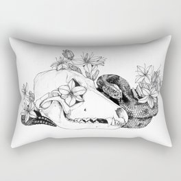 My Regrets Follow You to the Grave Rectangular Pillow