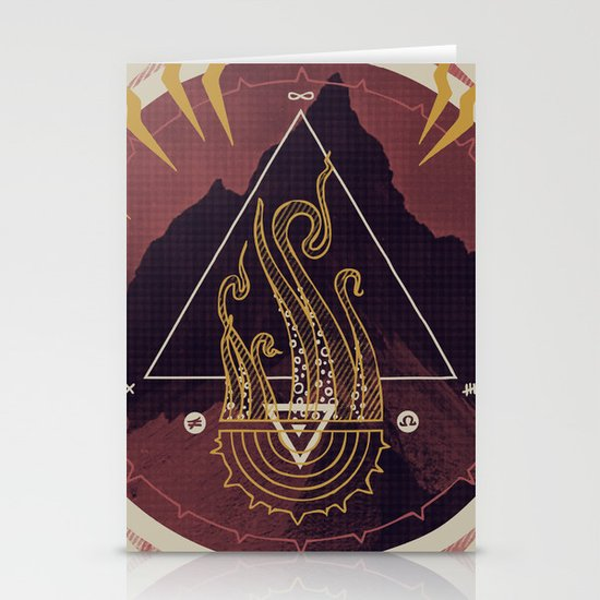 Mountain of Madness (alternate) Stationery Cards