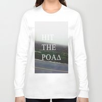 road Long Sleeve T-shirts featuring Road by sh3011