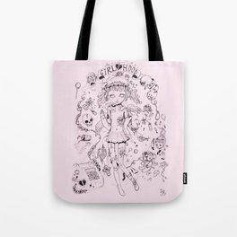 Girl♡hood Tote Bag