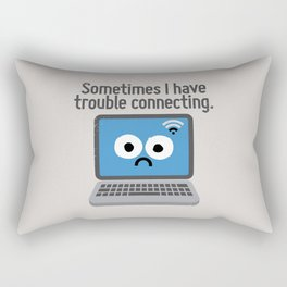The Social Notwork Rectangular Pillow