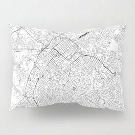 Charlotte White Map Pillow Sham